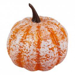 Hungarocell kerek tök, narancs-fehér, 7x7 cm