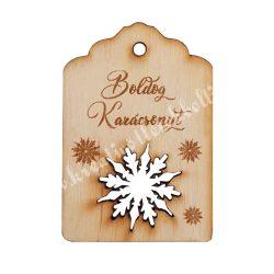 Fa biléta, Boldog Karácsonyt!