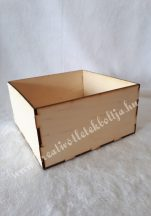 Fa dobozka négyzet