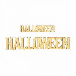 Fa felirat, Halloween