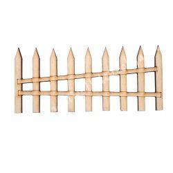 Fa kerítés, 8,5x4 cm cm