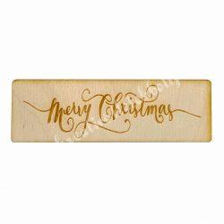 Fatábla, Merry Christmas, kicsi