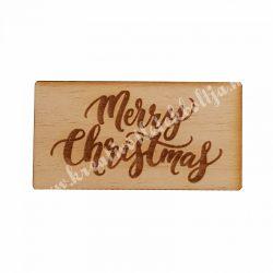Fatábla, Merry Christmas, nagy
