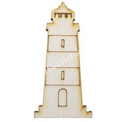 Világítótorony fafigura 3,5x7,5 cm
