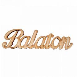 Fa felirat, Balaton, 17x5cm
