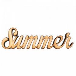 Fa felirat, Summer, 9x3cm