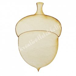 Fafigura, makk, 5x7,5 cm