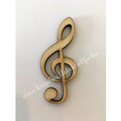 Fafigura violinkulcs