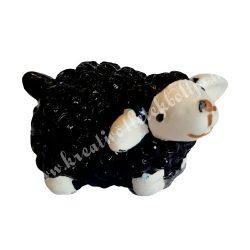 Fekete bárány, 2x2 cm