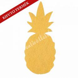 Ananász filcfigura