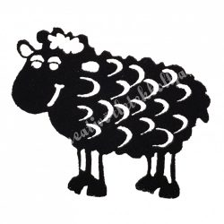 Filc bárány, fekete