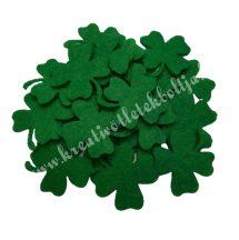 Filc lóhere, mini, zöld
