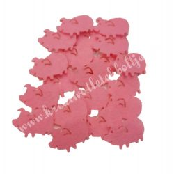 Filc malac, mini, rózsaszín
