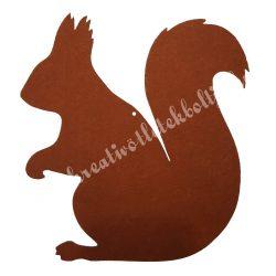 Filc mókus, 20x20,5 cm
