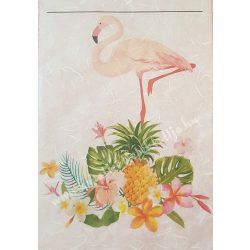 Flamingós rizspapír, 2. A4