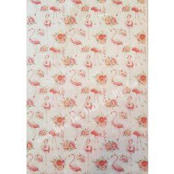 Flamingós rizspapír, 3. A4