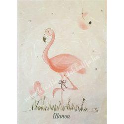 Flamingós rizspapír, 4. A4