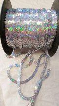 Flitter irizáló ezüst