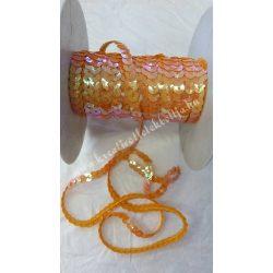 Flitter irizáló narancssárga