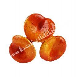 Betűzős gipsz gomba, narancssárga, 3 db/csokor