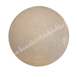 Világító gömb dekoráció, 15 cm