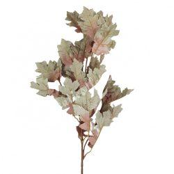 Őszi tölgy ág, zöld, kb. 90 cm