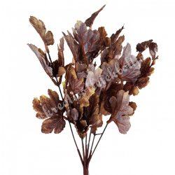 Levél csokor, barna, kb. 32 cm