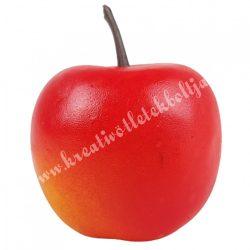 Hungarocell alma, matt, piros-narancs, 3,5x4,5 cm
