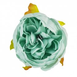 Dekor virágfej, menta, 5 cm