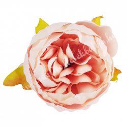 Dekor virágfej, rózsaszín, 5 cm