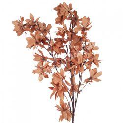Virágos ág, világosbarna, 14x95 cm