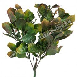 Virágcsokor, rózsaszín-zöld, 30 cm