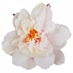 Dekor virágfej, cirmos, 8 cm