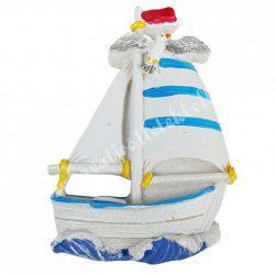 Hűtőmágnes, hajó, 5x7,5 cm