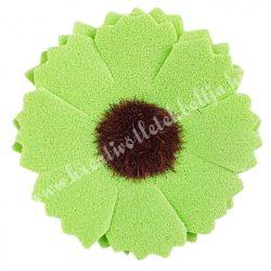 Polifoam margaréta, zöld, 4 cm