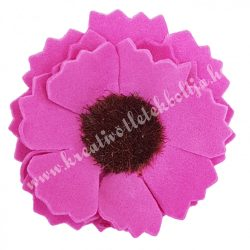 Polifoam margaréta, pink, 4 cm