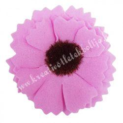 Polifoam margaréta, rózsaszín, 4 cm