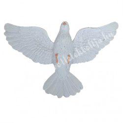 Galamb, fehér, 10x6,5 cm