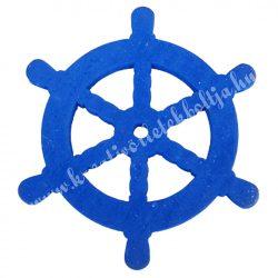 Fadekor, hajókormány, kék, 5 cm