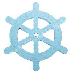 Fadekor, hajókormány, világoskék, 5 cm
