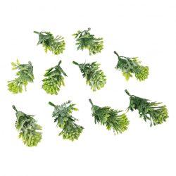 Zöld pozsgás, 4x7,5 cm, 9 db/csomag