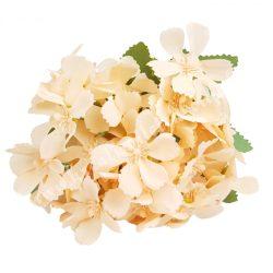 Vegyes színű virágcsokor, barack, kb. 27 cm