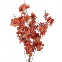 Őszi virágos ág, barna, 100 cm
