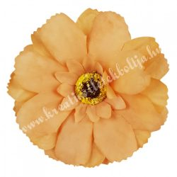 Dekor virágfej, világosbarna, 7,5 cm