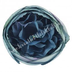 Dekor virágfej, kék, kb. 5 cm