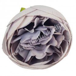 Dekor virágfej, lila, kb. 5 cm