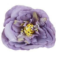 Dekor virágfej, világoslila, 5 cm