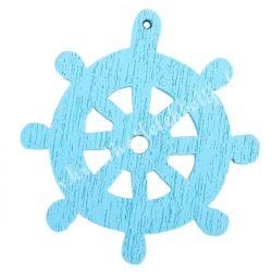 Fadekor, hajókormány, világoskék, 2,5 cm