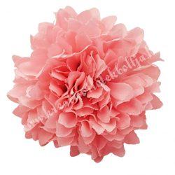 Dekor virágfej, világos rózsaszín, 4,5 cm
