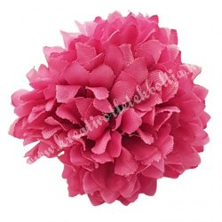 Dekor virágfej, rózsaszín, 4,5 cm